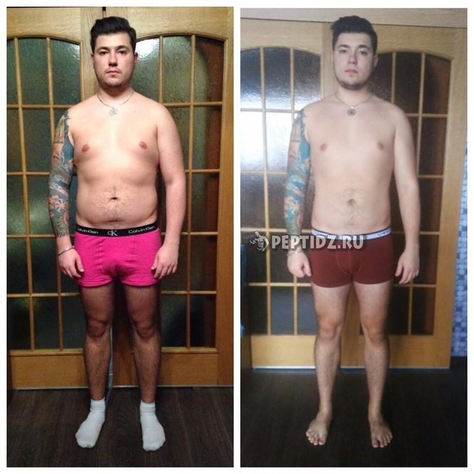Похудели ноги мужчины